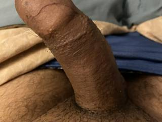 My uncut cock. What are your thoughts?