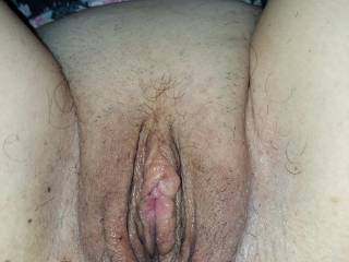 Clean the wifes pussy,how do you like it?