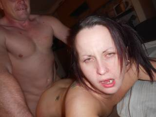The look on her face says it all...she is so fucking dirty