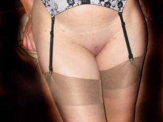Mmmmmm love the natural stockings look, very horny indeed !!!!!!!!!!!!!!