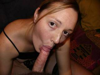 Nice suck she got. love to see her gape her pussy wide. That would be lovely