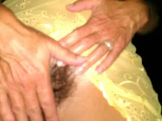 Mmmm love that hairy pussy...I'd fuck the shit out of you