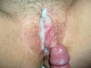 oh yea? how about a pic of your cum dripping off my wife's pussy on my face below