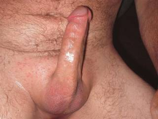 I'ld start licking your tight balls & run my tongue up & down your shaft till I got a mouthful of your sweet cum !!!