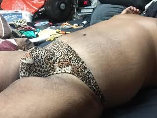 cheetah thong bulge