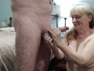 Ohh... I am a lucky woman! Now, what should I do with this lovely cock? My video will help provide an answer.