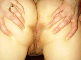 I like both of your great holes!! Which first??? But first you need a intensive lick... you agree???