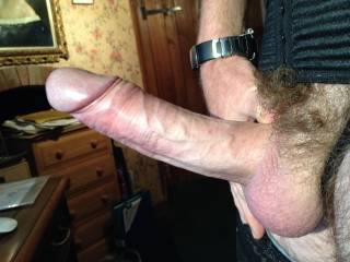 Very nice.. I'd enjoy watching you fucking my sexy, cock hungry wife's sweet pussy with your nicely hung cock.