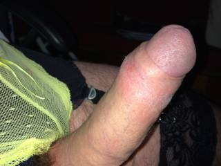 lacy yellow panties
