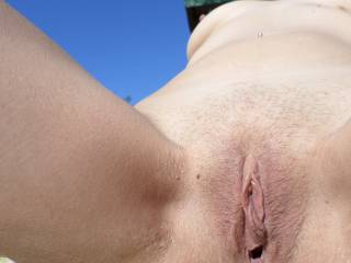 YUMMY!  Yea, my tongue, and make you really wet and juicy, than finish with my dick filling you with my cum.