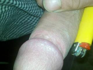 just for an idea:) double the length and width of a average lighter
