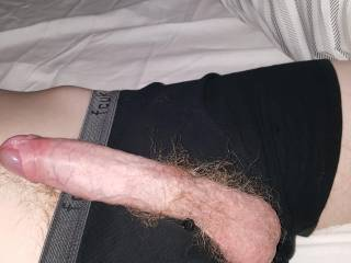 Looks a very nice cock and I bet your balls make nice cum