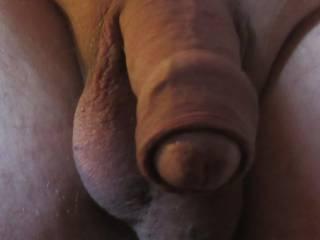 My Dick and Balls hanging around