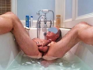 Enjoying a nice soak, wish I had company