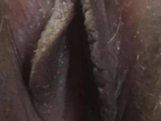 My wife's close up pussy with hard clit. Tell her what you think about it  She is to self  and needs some positive feedback if you guys like it that is?