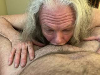 Number 3 and it is all the way down your throat, throat is open and loving the cock. Swallow a few times feel it slide a little further. 