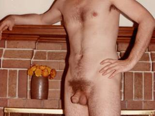 Mr. F at age 30, quite a few years ago.  Would you recognize him by the big head on his cock?    From Mrs. Floridaman