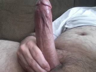 Very nice cock! Love to watch you dominate my sexy wife with it..