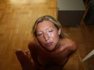 Such a beautiful woman, with an amazing facial! Thanks for sharing.