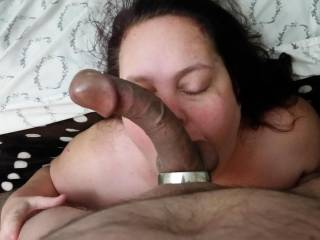 Getting my dick sucked