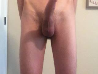"My dick looks innocent here like ""please make me cum ;)"""