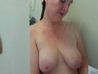 Would you be the same kind of peeping tom as my Hubby?  He only watches for so long before he jumps right in...