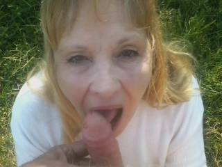 More licking cock in public
