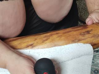 Wife using a vibrator on me.