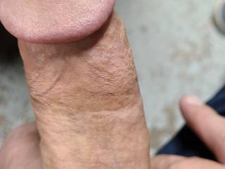 Playing with my cock bored and hard and horny