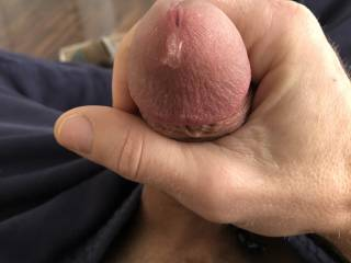 So hot you and hard I was starting to drip.  Want to taste it?