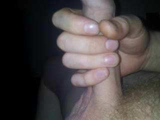 Wow I wish that was my hand your your Mmmmm cock