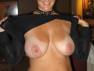 I LOVE your LARGE Breast, NIPPLES and AREOLAS. It excites me to see such BEAUTIFUL Assets on another woman. YUMMY...  Love and Kisses, Maryann