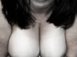 wife's exposed tits