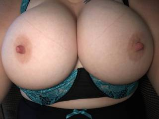 I love having my big tits played with