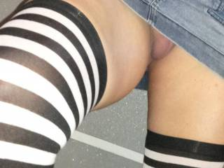 Getting ready for some public flashing