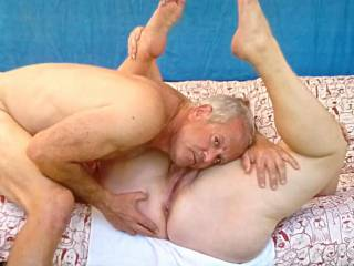 Getting ready to like eat out my wife\'s hot cunt and asshole!
