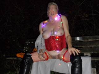 hi all trying to get into the horny Christmas spirit over a local park dirty comments welcome mature couple