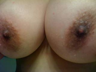 Jeez, those are an AMAZING pair of tits!  Clearly some of the best I have seen yet on Zoig!