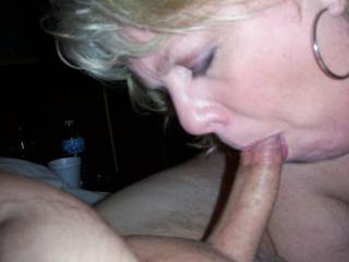 Mrs Daytonohfun having me for dessert after I took her to dinner while her hubby was out of town