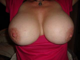 Your Nipples look very hard in this pic................