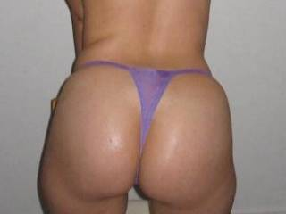 Sorry I'm not big or black but that is a great ass, and I would love to get behind her spread her ass, pull that thong to the side and lick her ass and pussy until she cums on my face