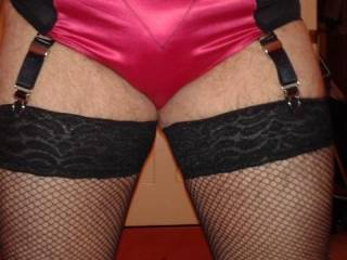 Be nice to have some stocking and panties fun together :-)
