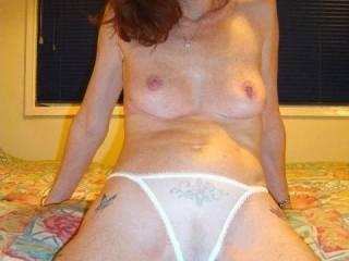 who wants my wet panties?  hahaha  karen xx