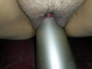 I would love to lick her clit while she rides her toy.
