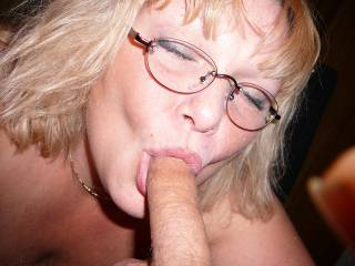 U look sexy sucking cock with glasses on....A student--- lol   or more like a very good teacher