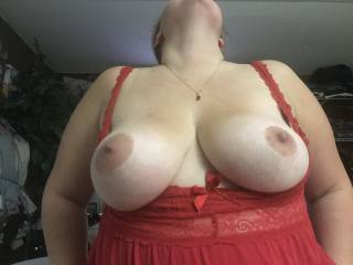 This is the most amazing view ! Mrs D riding my cock! Those huge tits bouncing as she's grinding and cunning all over my shaft Mrs D gets her hot wet cream pie every time she hops on top!!