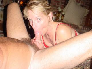 very nice.  diana you look soo fucking hott there with a cock in your mouth. wish it was mine