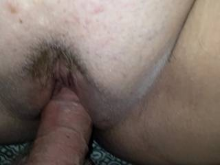She was excited to see my dick goin in and out of her pussy Isnt this a phat pussy