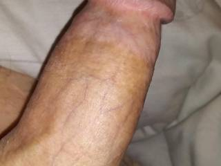 Just laying around playing around waiting on something to stick my cock in