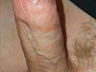 Erect Big hard impressive thick white penis dick cock